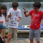 Pêche au canard grandeur nature!!!! (Pêche au piranha) / La pesca a tamaño natural (la pesca de la piraña)
